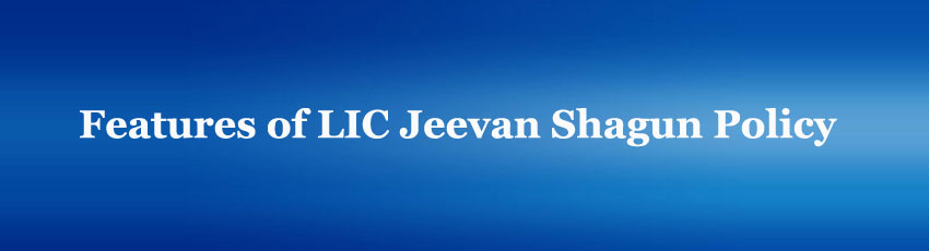 LIC Jeevan Shagun Policy