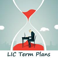 LIC Term plans